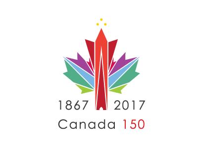 Canada 150 2017 1867 confederation 150 canada illustrator vector logo