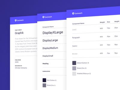 Mercury Teaser: Typography job career rebrand color saas system design kit outreach mercury ui typography