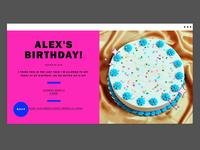Flyer Birthday Invitations