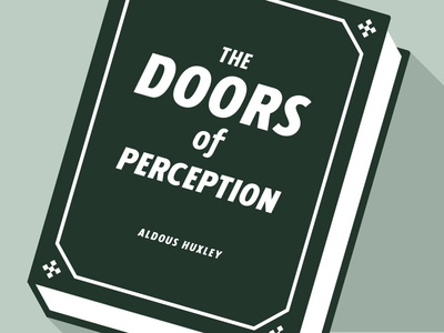 Doors of Perception sans serif sans retro bold italic cursive hipster typography display cover book cover book fonts font type design graphic design graphic