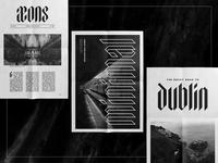 Elmwood Mockups gothic design display graphic monoline textura typography blackletter fonts font vintage
