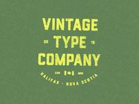 Vintage Type Company [CDN MDE]