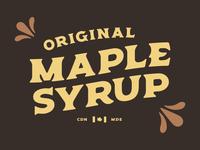 Original Maple Syrup