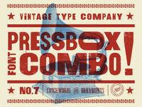 PressBox Font Combo