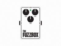 The Fuzzbox Guitar Pedal