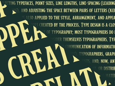VTC Horoscope type dark fonts font old modern minimal lettering typeface typography horoscope vintage clean