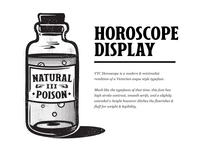 VTC Horoscope Display Font