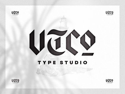 VTC Blackletter graphicdesign inspiration design modern clean digital logo logotypes logotype wordmark word custom letter blackletter black vintage