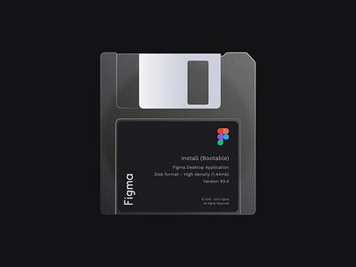 Floppy figma illustration floppydisk floppy figma figmadesign