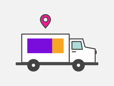 Shipping illustrations blog post illustration carrier truck tracking shipping