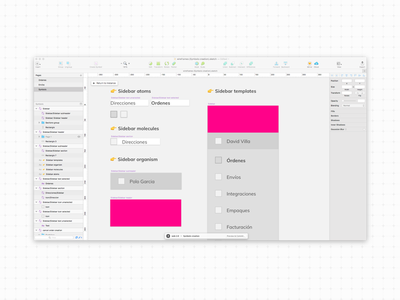Workflow 🤓 symbols atomic design interfaces design ui ux process workflow