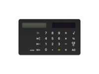 Braun Calculator (Dieter Rams)