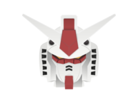 Mobile Suit Gundam (Head)