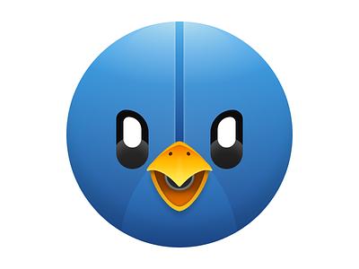 Tweetbot 3 macOS Icon apple tapbots illustration icon figma 5thingsinfigma design twitter tweetbot