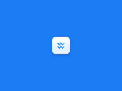 Wake Icon (Acquired by InVision) 5thingsinfigma figma ios square shadows icon app wake invision