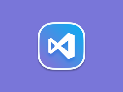 Visual Studio Code Mac Icon Replacement (File Download Included) squircle color figma 5thingsinfigma code visual studio vscode microsoft macos mac icns icons
