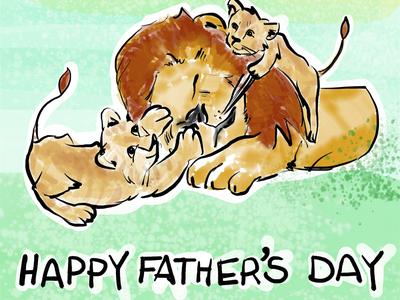 Happy Father's Day! illustration