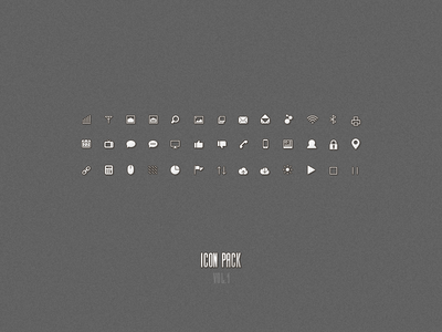 Icon Pack Vol 1
