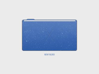 Mac OS X 11 Folder