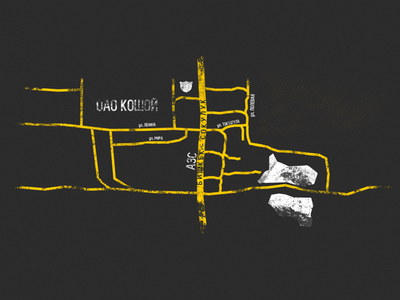 Road Map road map roads mapdesign