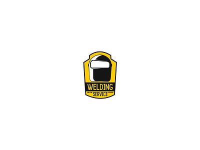 Welding service welding logo logotype helmet