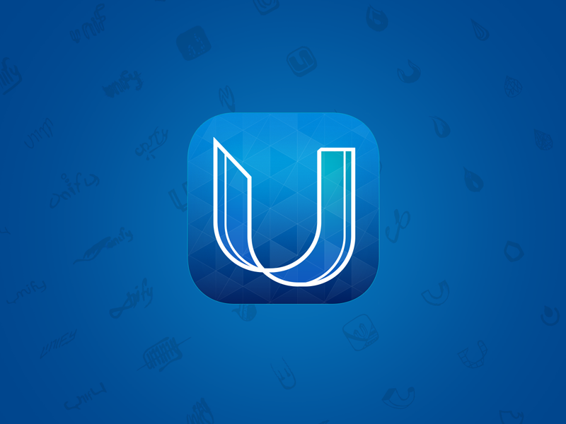 Unify. App Icon icon icons app icondesign u unify