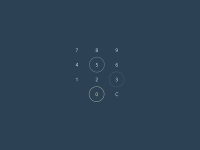 HostPay. Num Board. ux ui calc calculator board num app