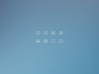 HostPay. Mobile App. Icon Pack.