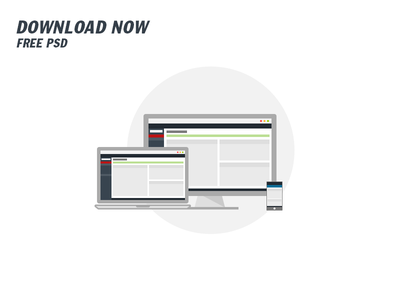 UI/UX Dashboard. Free Download PSD display app mobile notebook board dashboard uiux