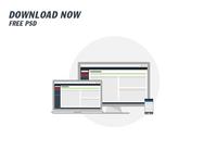 UI/UX Dashboard. Free Download PSD