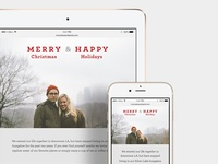 Christmas Card Website