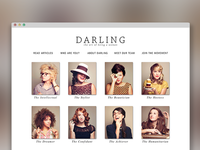Darling Magazine Web Launch