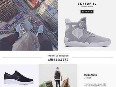 Ecommerce Homepage Concept concept product design ux lifestyle editorial ecommerce