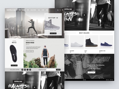 Ecommerce Concept Variation 2 lifestyle editorial ecommerce
