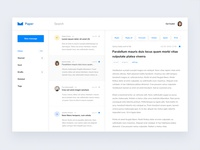 Paper Mail Dashboard