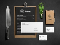 Twenty stationery
