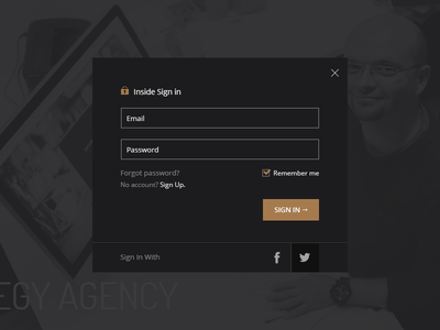 Sign In account sigin login