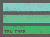 Ten Tree Stripe Shirt Design