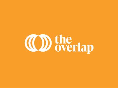 The Overlap concept identity brand branding design icon logo typography