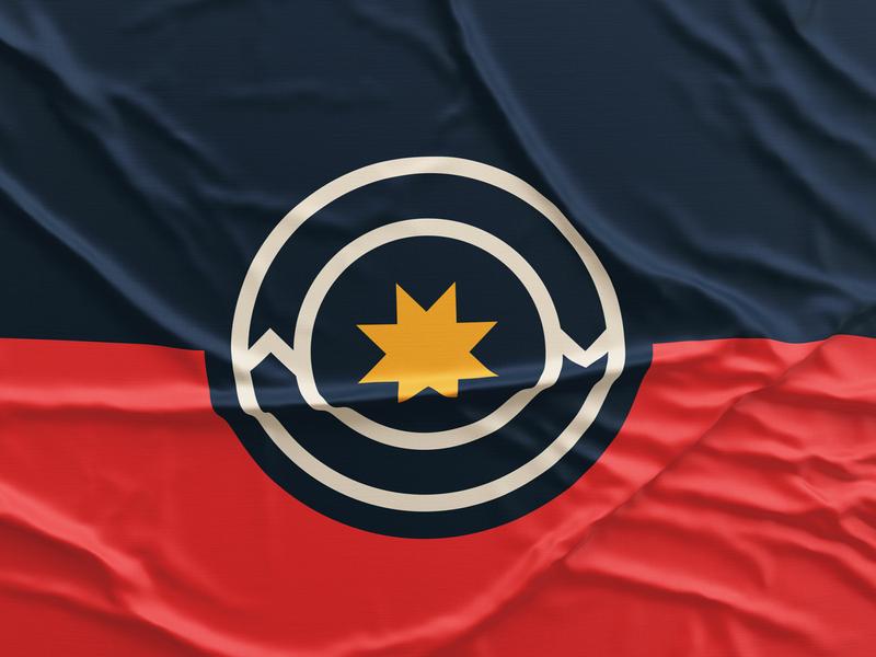 Norman Flag Concept norman city vexillology flag oklahoma design