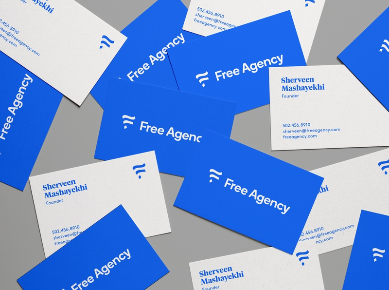 Free Agency Business Cards