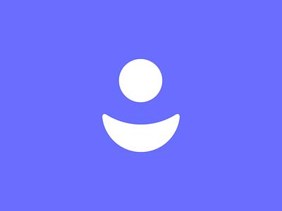Grin Logo saas tech vector identity brand branding icon design logo