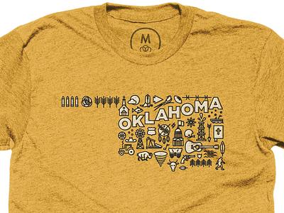 Oklahoma Shirt on Cotton Bureau shirt design oklahoma icons cotton bureau
