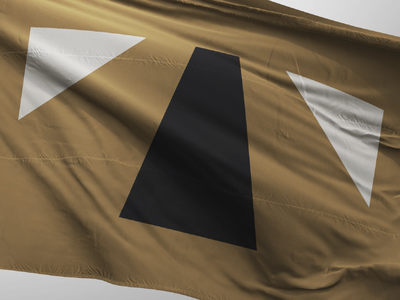 Tulsa Flag deco art oil symbol oklahoma tulsa flag