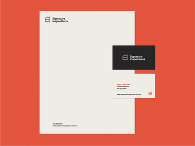 Inspection Logo modern mark icon typography identity branding logo
