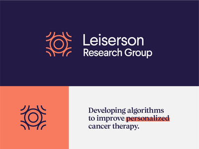 Cancer Research Logo dna cells cancer health type identity brand branding design logo icon typography