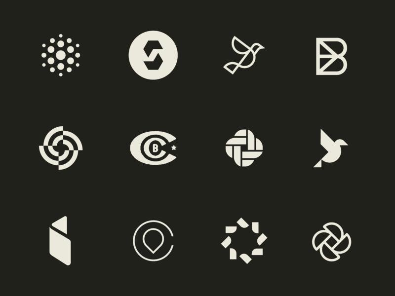 4 months of marks vector identity brand branding design icon logo