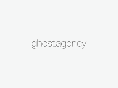 New Ghost Website