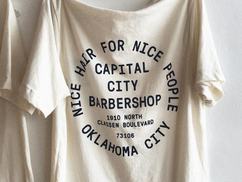 Shirt Design for Capital City Barbershop
