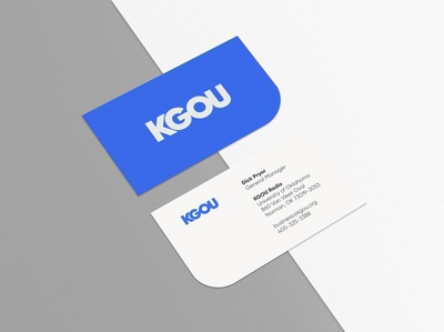 KGOU Print Collateral